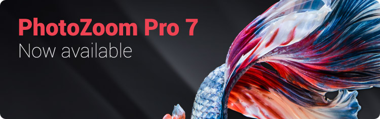 النسخة الجديدة من برنامج تكبير الصور مع الحفاظ على جودتها, ملحق لتكبير الصور Benvista PhotoZoom Pro 7.0.2