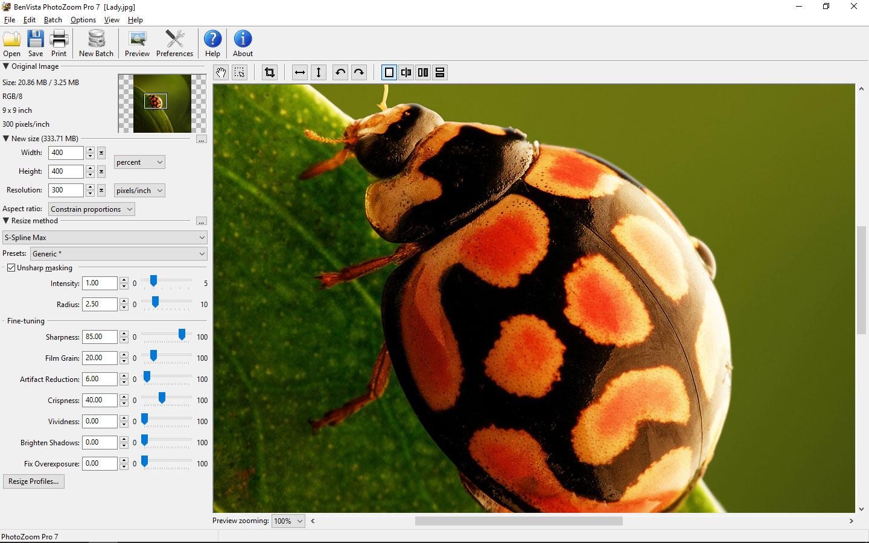 PhotoZoom Pro 7 for Mac 7.0.2 序号版 – Mac上强大的图片无损放大工具-麦氪派