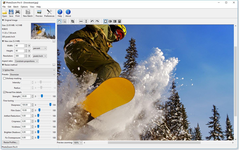 Benvista PhotoZoom Pro 8.0.6 (x86/x64) Multilingual
